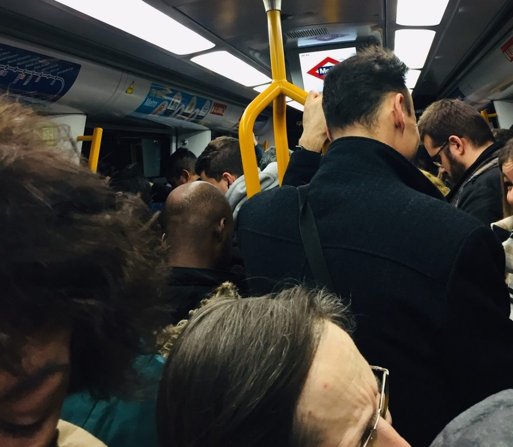 Morning Commute Madrid