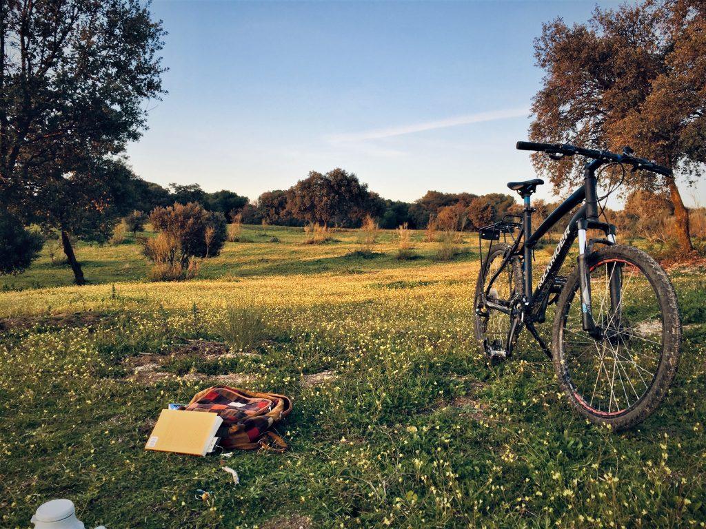 bike riding and self-reliance