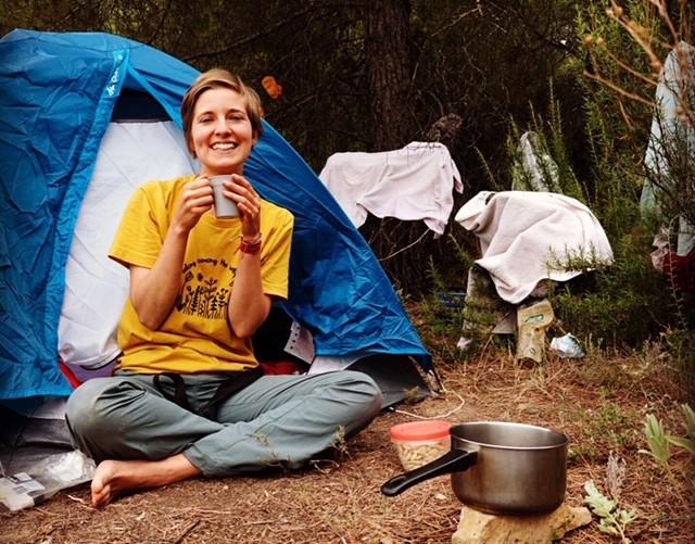 Camping at Freedom Farm