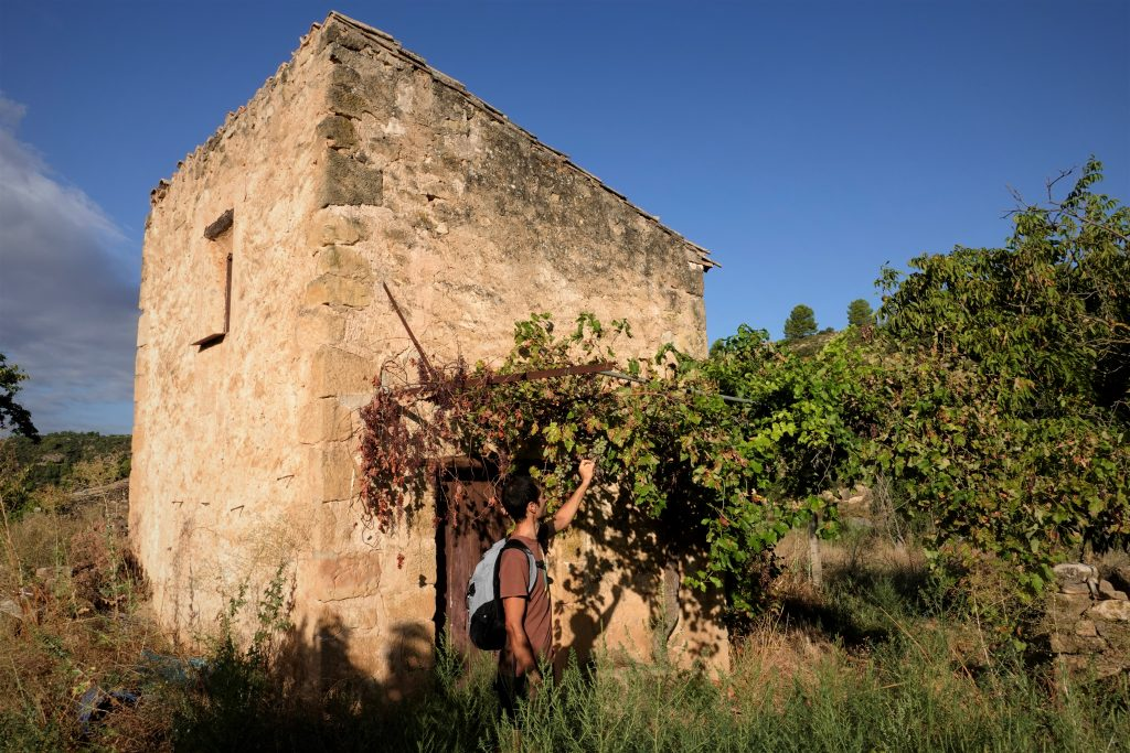 off-grid abandoned Spain