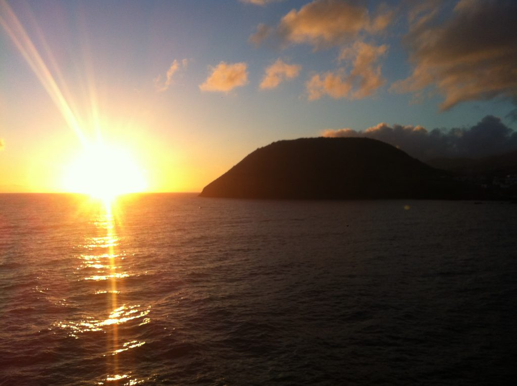 Ferry ride in the Azores