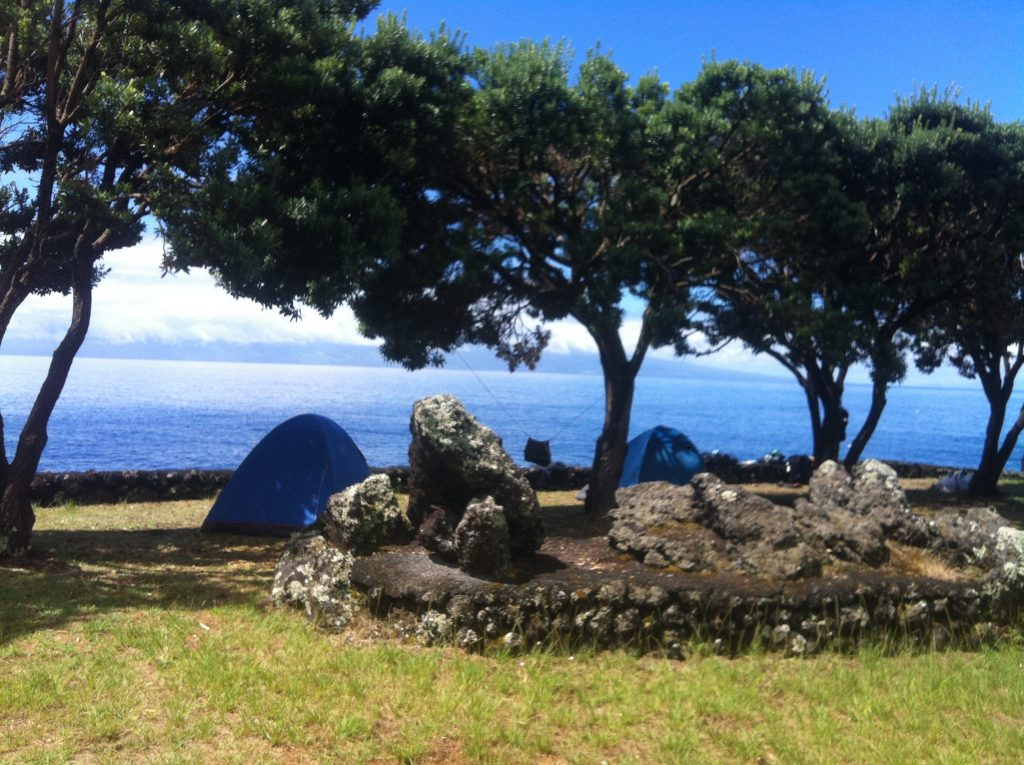 camping in the Azores