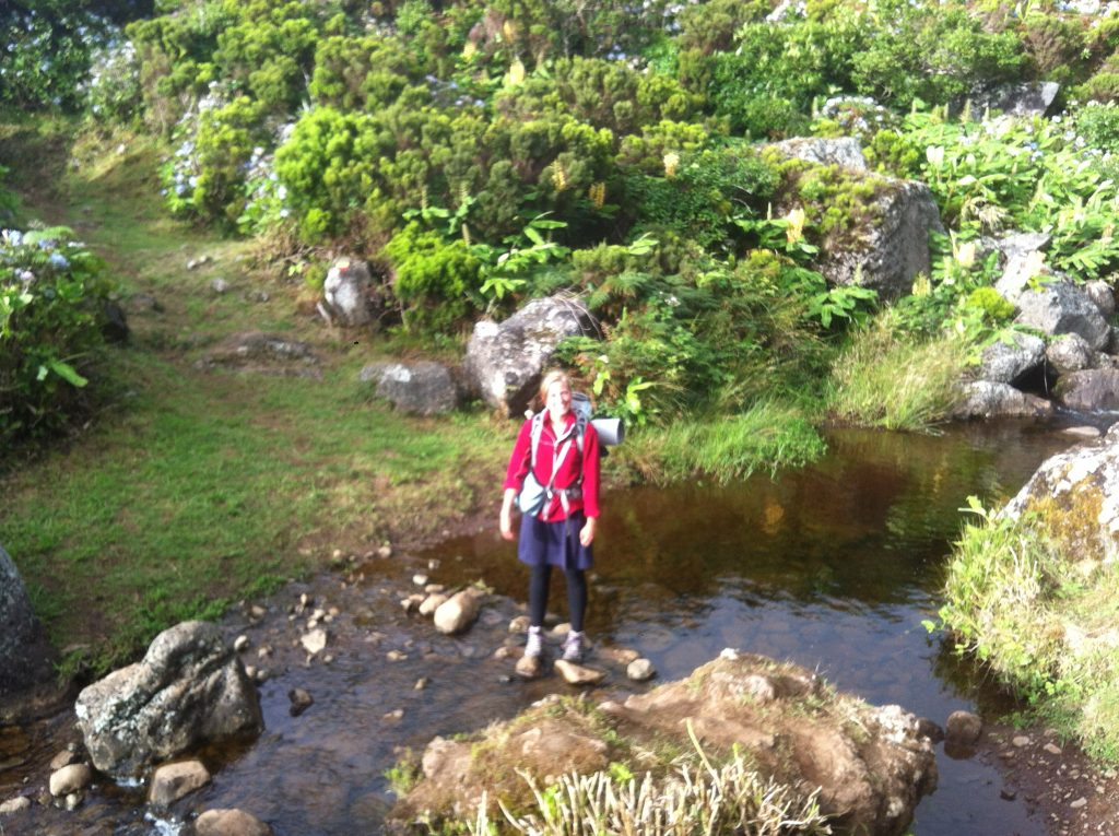 Backpacking in the Azores
