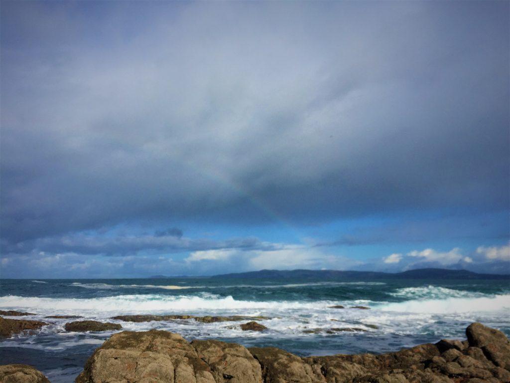 Ocean rainbow Galicia